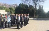 淄博市政府党组开展革命传统和先进典型现场教育