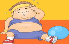 胖娃脖子变黑 当心糖尿病