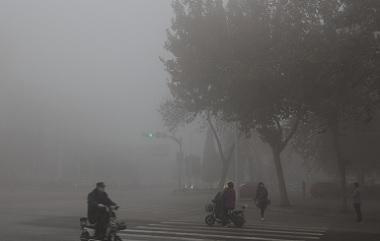 濟南等地出現強濃霧 局地能見度不足50米。