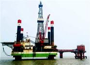 海洋采油厂海上埕北313区块钻井开工