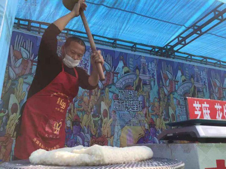 首届(淄博)国际食品展览会暨进出口商品展开幕
