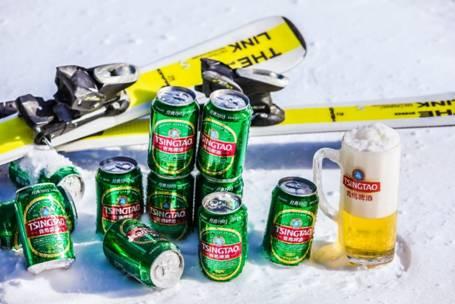 """冰天雪地""""开趴"""" 青啤冰上啤酒节""""成精""""了"""
