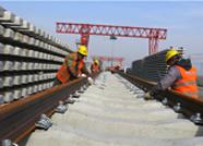 东营港疏港铁路进入全线铺轨阶段 年底达到试运行条件