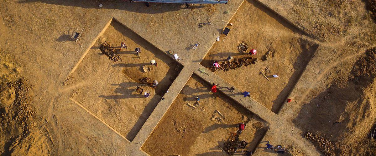 青岛琅琊台遗址首次启动考古发掘工作
