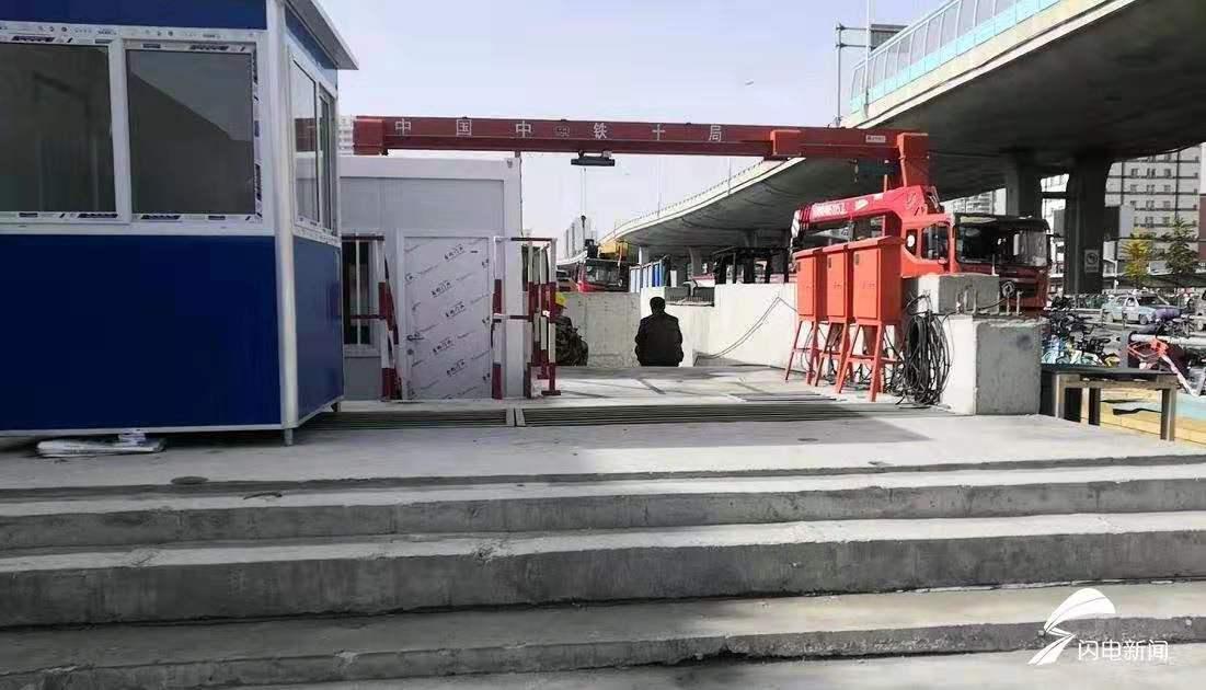 济南地铁2号线明年底通车 抢先探站