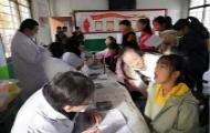 滕州市龙阳镇卫生院扎实开展辖区中小学健康查体工作