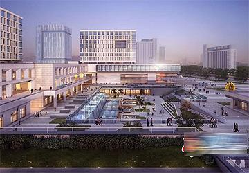 自贸区烟台片区崛起新地标 预计2022年7月完工