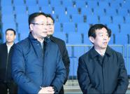 齐家滨参观考察日照香河体育公园