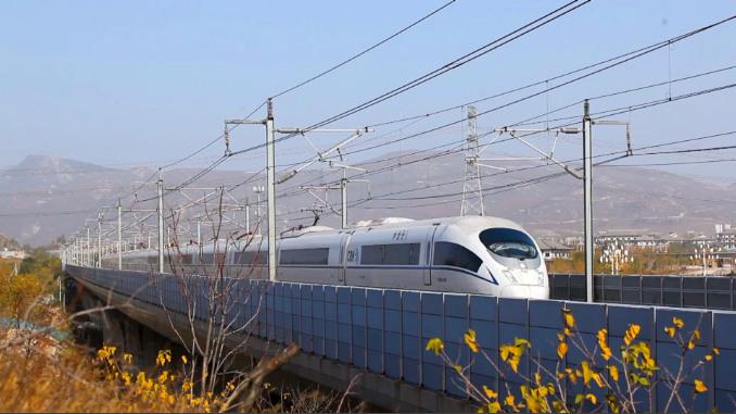 助力老区腾飞!首条通往沂蒙山的高铁开过来了