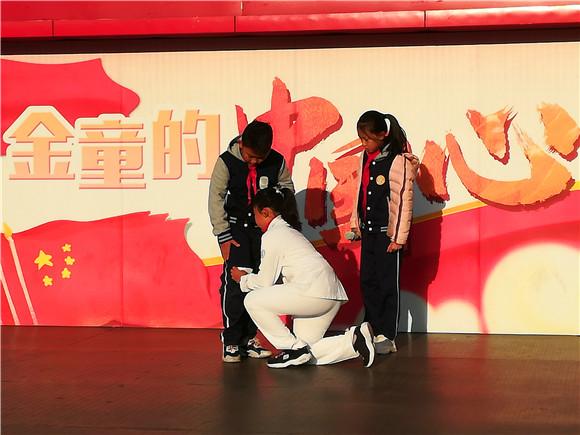 青岛市市南区珠海路街道创建全国文明城市宣传走进小学