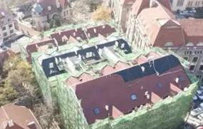 青岛6处建筑屋顶修复 老城区再现