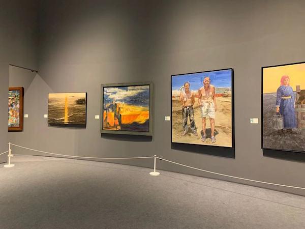 山东青年美术作品集聚上海:一次沪鲁艺术家的交流