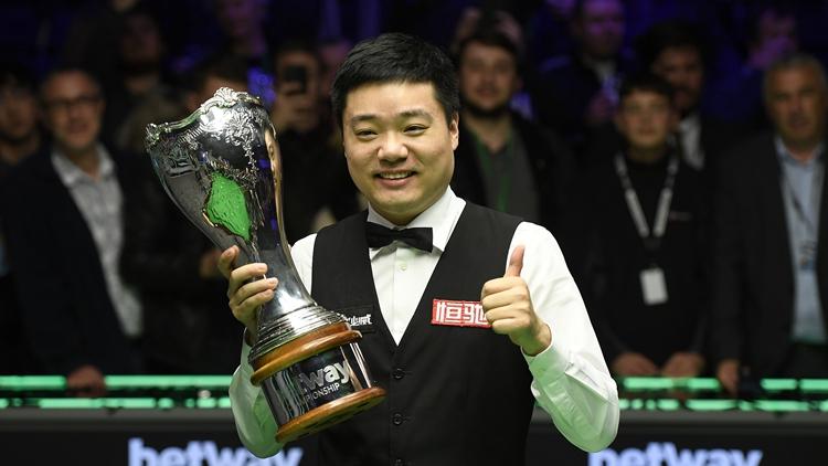 时隔十年再捧杯!丁俊晖夺英锦赛第3冠