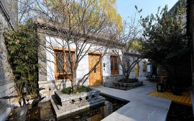 济南第一家泉水民宿基本建成 老城元素汇聚的院里泉水叮咚