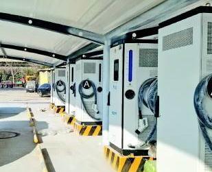 济南最大新能源车充电站20日启用!可提供200多个充电车位