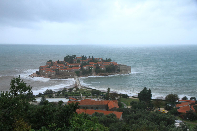 40、圣斯特凡岛。地中海区域著名的旅游胜地,