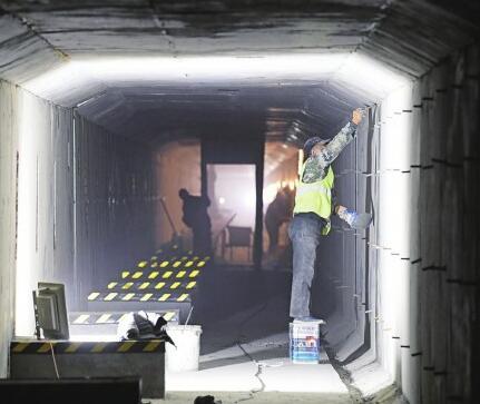 大型地下管廊亮相济南东部城区