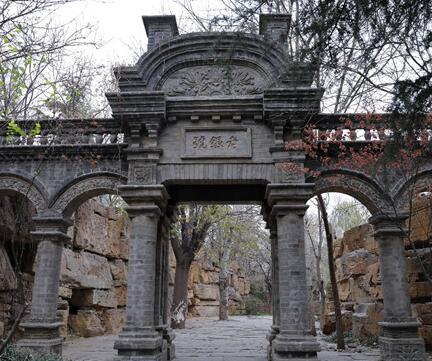 """""""腊山河公园"""":一部记录中国建筑的变迁史"""