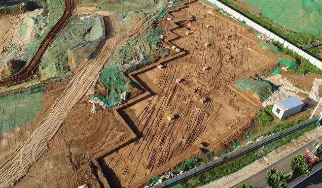 西安新寺遗址发现古代道路 或与西汉长门宫密切关联