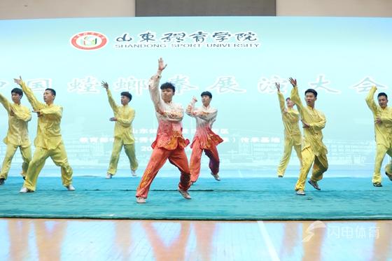 螳螂拳中华优秀传统文化传承基地落户山东体育学院
