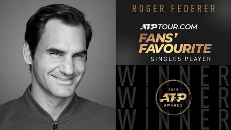 ATP大奖:费德勒连续17年最受欢迎 穆雷揽复出奖