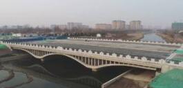 淄博高新区将新增一条交通干线 北辛路桥梁主体工程竣工