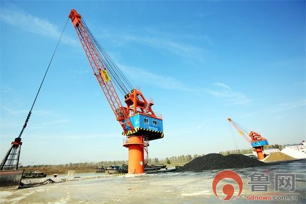 枣庄岸电年减少运河港口标煤燃烧1452吨
