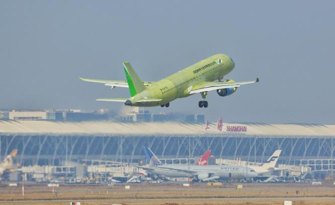 C919第六架试飞飞机完成首飞 中国大型客机开启大强度试飞