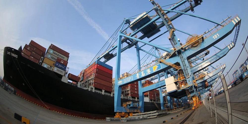 青岛港2019年吞吐量破6亿吨 集装箱超2100万箱