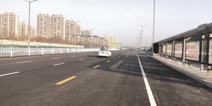 新年添新路 聊城二干路北延路段通车啦