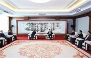青海省海北州党政代表团来威对接对口支援工作