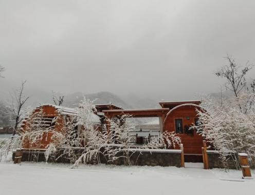 高清组图赏2020年第一场雪中的九如山