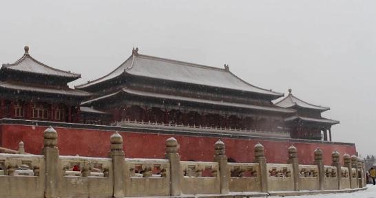 2020年初雪 带你去故宫看雪可好?