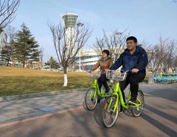 45万人共同参与 潍坊公共自行车骑行量突破3亿人次
