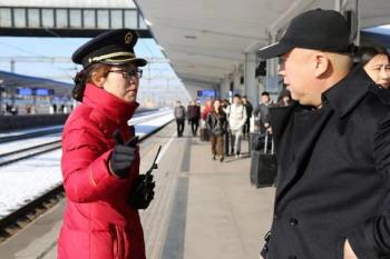 淄博火车站春运多项服务温暖旅客回家路