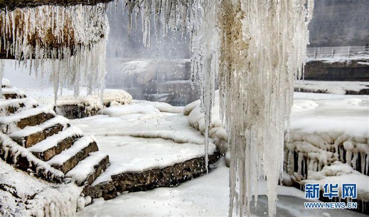 (美丽中国)(4)晶莹剔透的黄河壶口瀑布