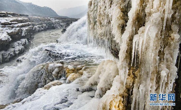 (美丽中国)(3)晶莹剔透的黄河壶口瀑布