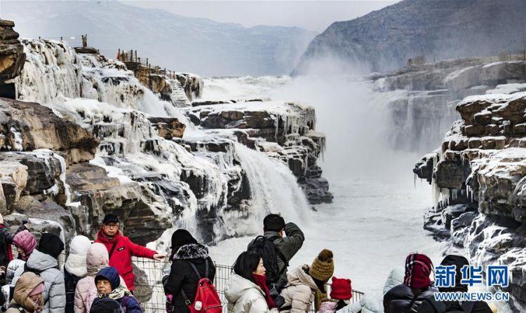 (美丽中国)(5)晶莹剔透的黄河壶口瀑布