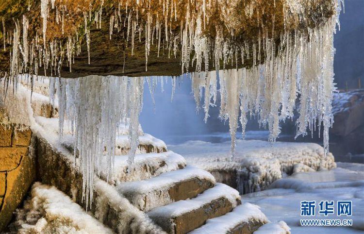 (美丽中国)(8)晶莹剔透的黄河壶口瀑布