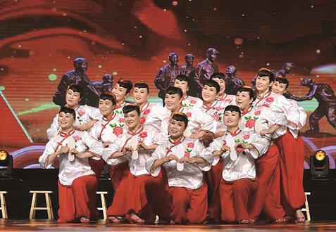 东营原创情景舞蹈《拥军情》登上省老年春晚舞台