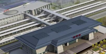 淄博火车站将建10米宽跨线天桥
