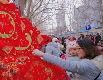 新春走基层|赶大集备年货,潍坊的年味浓了!