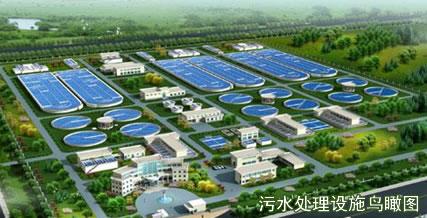 文登区化工产业园污水处理厂即将投入使用
