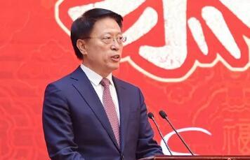 淄博举行各界人士迎新春茶话会 向全市人民拜年