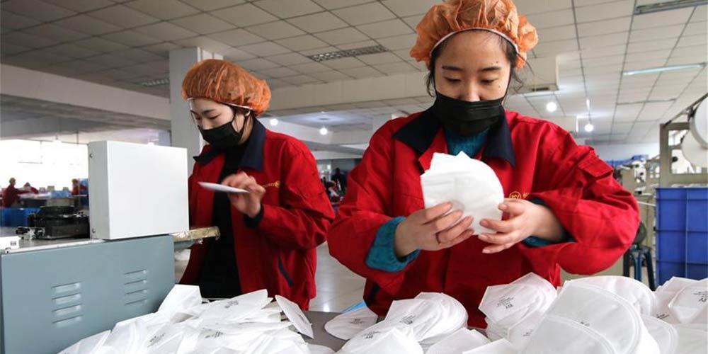 全力战病毒!全国口罩企业抓紧口罩生产,全力增加供应