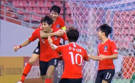 韩国1-0绝杀沙特,首夺U23亚洲杯冠军