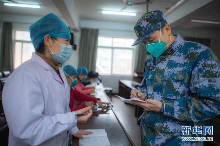(新型冠状病毒感染的肺炎疫情防控)(8)海军军医大学医疗队将再开设2个新的病区接收患者