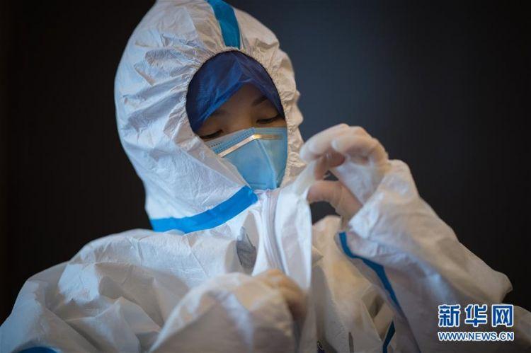 (新型冠状病毒感染的肺炎疫情防控)(5)海军军医大学医疗队将再开设2个新的病区接收患者