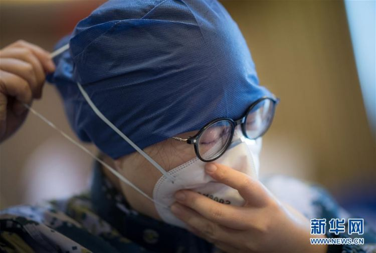 (新型冠状病毒感染的肺炎疫情防控)(4)海军军医大学医疗队将再开设2个新的病区接收患者