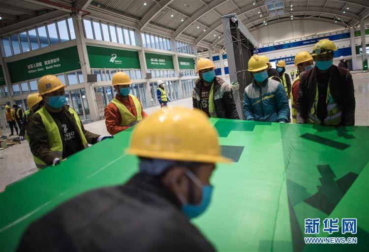 (新型肺炎疫情防控)(3)武汉第二座应急医院——雷神山医院开建